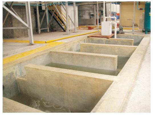 碱液循环池